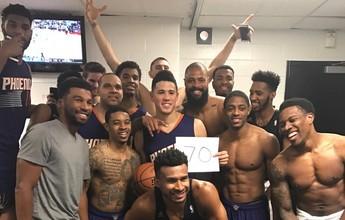 Garoto de 20 anos marca 70 pontos, mas Suns perdem para os Celtics