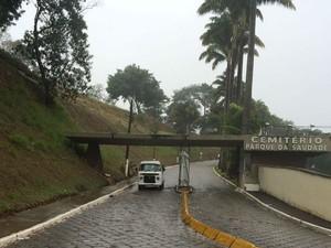 Cemitério Parque da Saudade Juiz de Fora (Foto: Carlos Eduardo Alvim/G1)