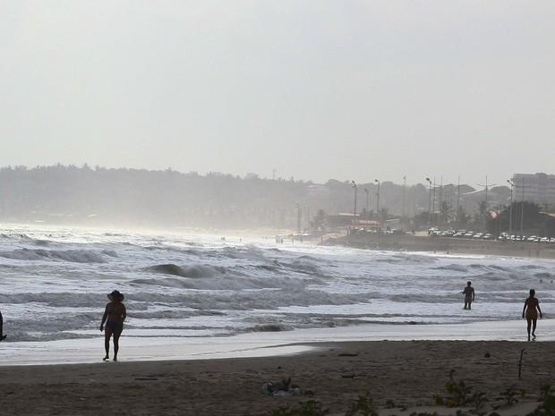 Todas as praias da Região metropolitana estão propícias para banho (Foto: Divulgação/ Secap)