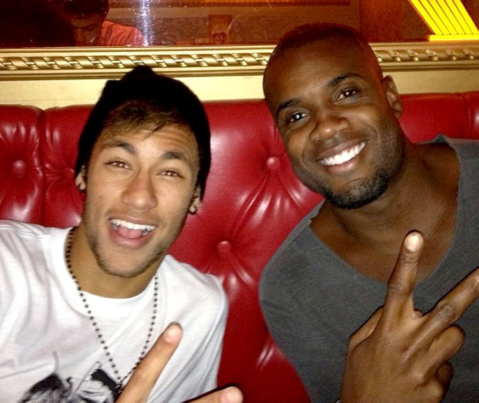 Neymar com Zulu (Foto: Reprodução / Instagran)