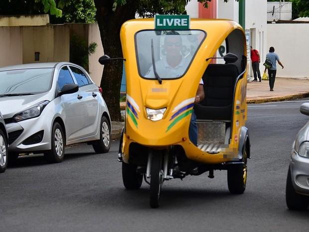 Votuporanga aprovou Uso do tuk tuk de para Passageiros (Foto: Divulgação / Prefeitura de Votuporanga)