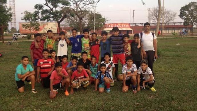 Projeto em Guajará-Mirim tira crianças de situações de risco (Foto: Dayanne Saldanha)