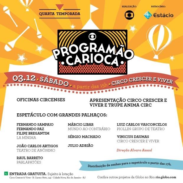 programão carioca (Foto: programão carioca)