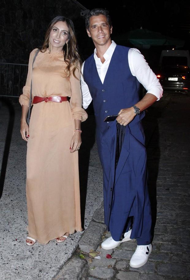 Márcio Garcia e Andréa Santa Rosa  (Foto: Marcos Ferreira/Brazil News)