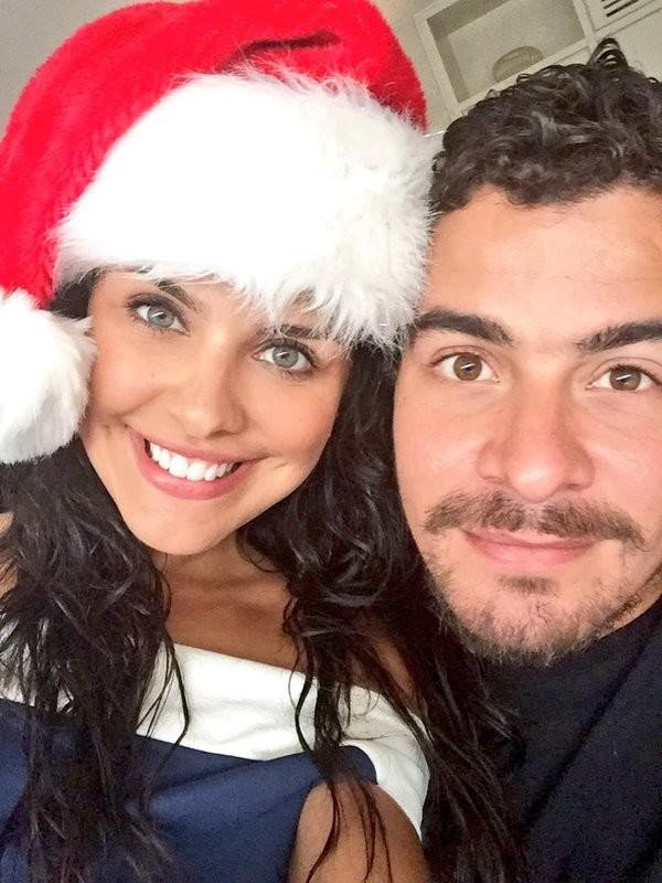 Paloma Bernardi e Thiago Martins (Foto: Twitter/ Reprodução)