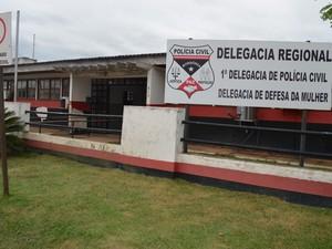 Delegacia de Cacoal, RO (Foto: Rogério Aderbal/G1)