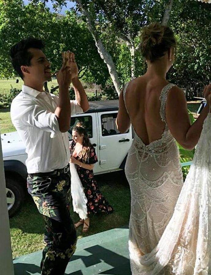 Ronda Rousey; casamento; Havaí