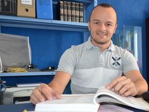 Geraldo destaca aprendizado  (Foto: Marina Fontenele/G1)