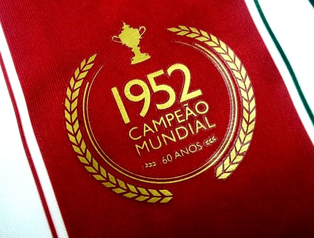 selo camisa Fluminense título mundial (Foto: Divulgação)