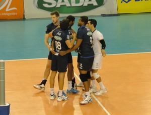 vôlei Cruzeiro x Volta Redonda (Foto: Gabriel Duarte)