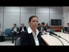 Cláudia Cruz diz que soube de conta no exterior só após bloqueio de cartão