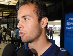 Hugo Ragelli, atacante do Cruzeiro (Foto: Leonardo Simonini)