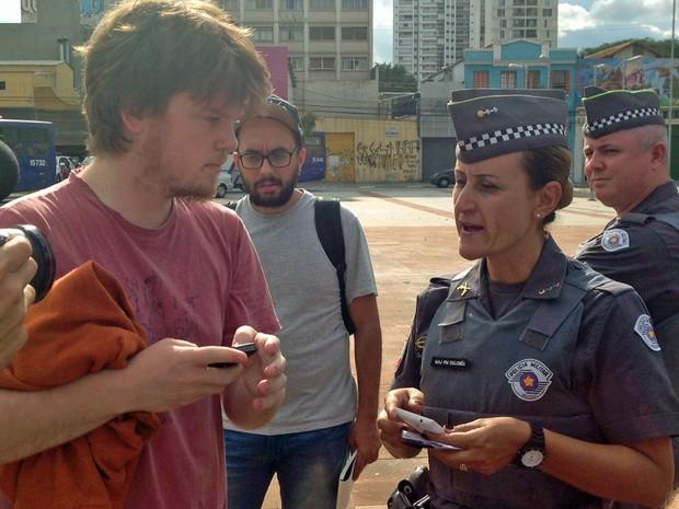 Conversa MPL Largo da Batata (Foto: Marcelo Mora/G1)