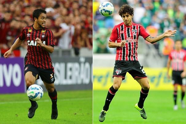 Pelo Brasileirão, Atlético-PR x São Paulo jogam na Arena da Baixada, em Curitiba (Foto: globoesporte.com)