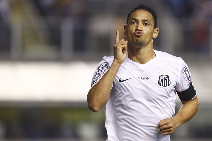 Santos x Chapecoense Ricardo Oliveira (Foto: Ricardo Saibun/Agif/Estadão Conteúdo)