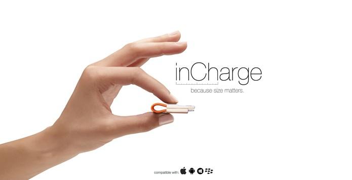 inCharge é um micro carregador de smartphones e tablets (Foto: Divulgação/inCharge)