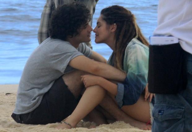 Guilherme Prates e Elisa Pinheiro (Foto: Roberto Cristino/Foto Rio News)