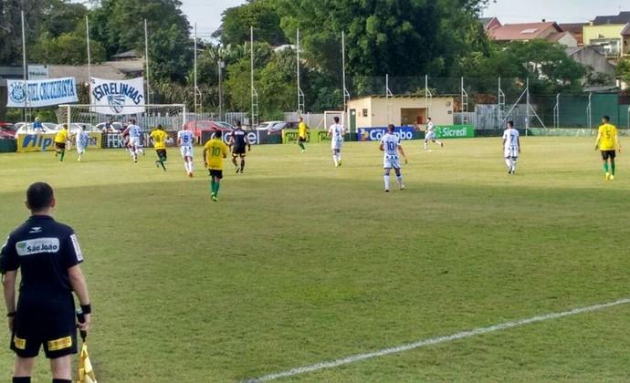 Cruzeiro x Ypiranga jogaram no Vieirão, em Gravataí, pela 10ª rodada do Gauchão 2017 (Foto: Esporte Clube Ypiranga / Divulgação)