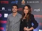 Famosos vão a pré-estreia de filme 'A Grande Vitória', em São Paulo