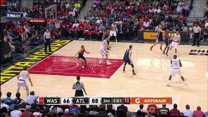 Melhores momentos de Washington Wizards 98 x 116 Atlanta Hawks pela NBA