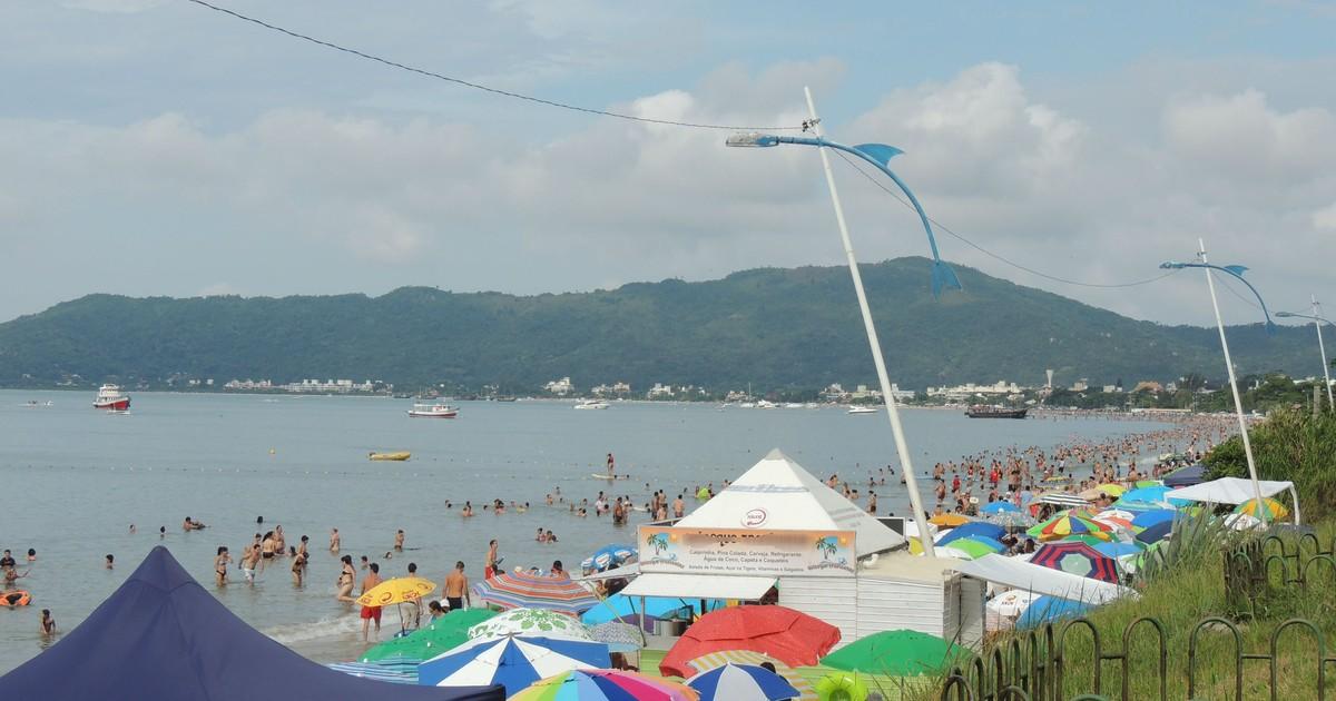 SC mantém 63 pontos impróprios para banho de mar, aponta relatório - Globo.com