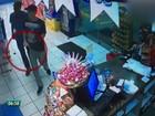 Vídeos mostram ação de assaltantes em postos e lojas de conveniência