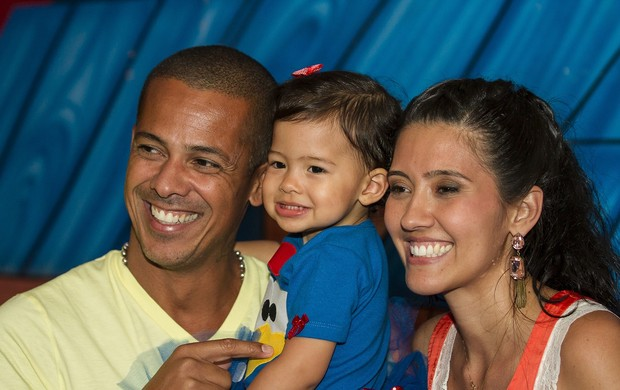 Leandro Sapucahy recebe amigos famosos em aniversário da filha Luysa (Foto:  Laerte Sapucahy)