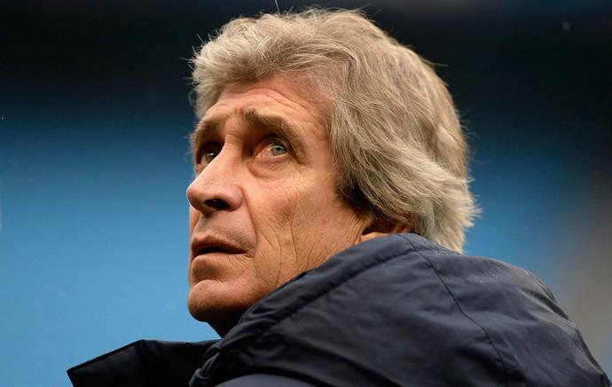 Treino Manchester City Manuel Pellegrini (Foto: REUTERS)