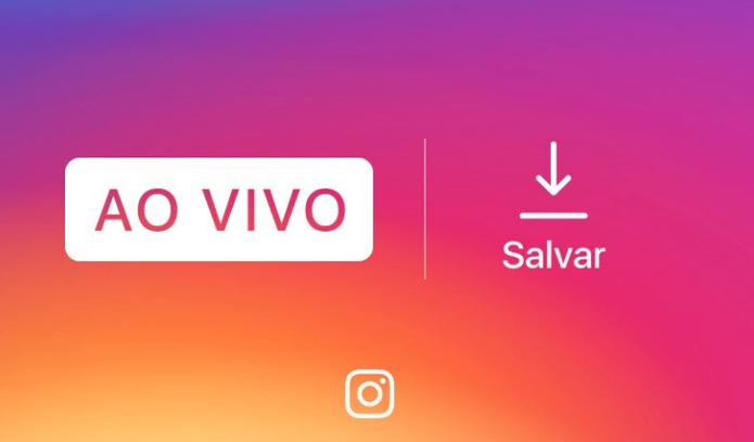 Agora é possível salvar vídeos ao vivo do Instagram (Foto: Divulgação/Instagram)