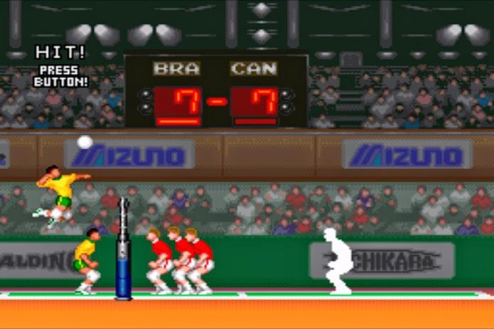 Hyper V-Ball tinha campeonatos com humanos e ciborgues (Foto: Reprodução)
