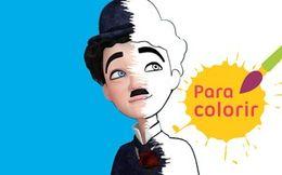 Para colorir: Chaplin querido