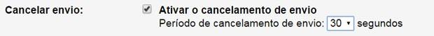 Opção de cancelar envio de emails do Gmail (Foto: Reprodução)