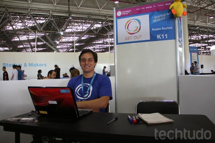 GetOut.me (Foto: TechTudo/Melissa Cruz)