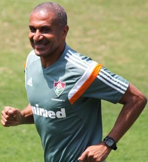 Cristovão Treino do Fluminense (Foto: Fernando Cazaes / Photocamera)