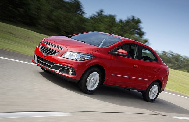 Chevrolet Prisma 1.4 (Foto: Fabio Aro)