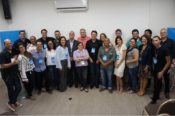 Colaboradores tiveram um dia de treinamento com executivos da Globo (Foto: Daniel Sousa/TV Cabo Branco)