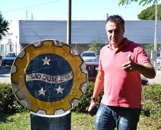 Técnico José Francisco de Oliveira São José EC (Foto: Filipe Rodrigues)