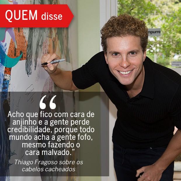 QUEM Disse: Thiago Fragoso (Foto: Reprodução/ Revista QUEM)