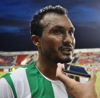 Elenilson, atacante do Alto Acre (Foto: Duaine Rodrigues)