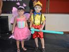 Carnaval infantil agita tarde de criançada em Porto Velho