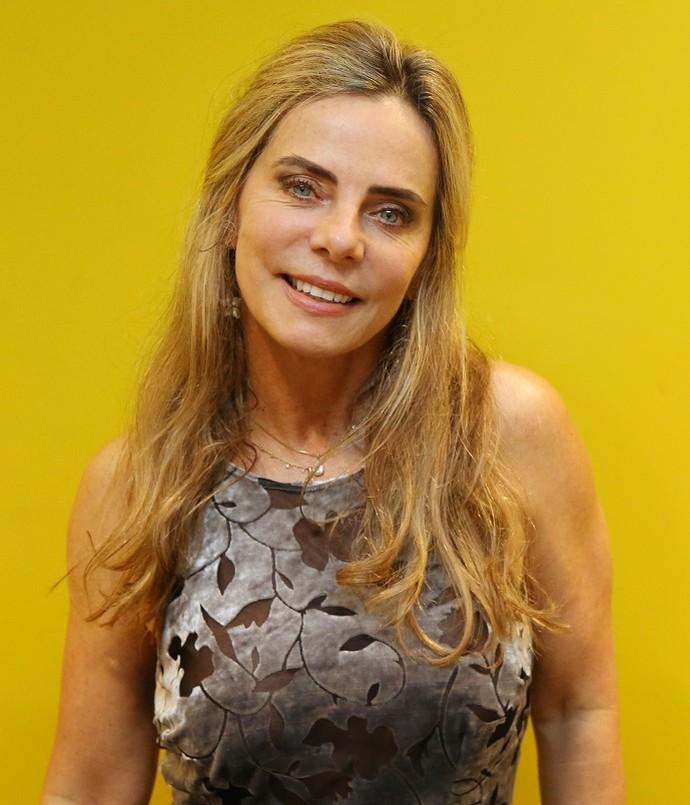Bruna Lombardi está com 63 anos, com carinha de 35! (Foto: Carol Caminha/Gshow)