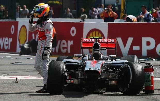 Lewis Hamilton Fórmula 1 Bélgica (Foto: Getty Images)