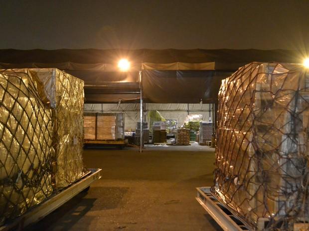 Grupo armado rouba terminal de cargas de Cumbica (Foto: Edu Silva/Futura Press/Estadão Conteúdo)