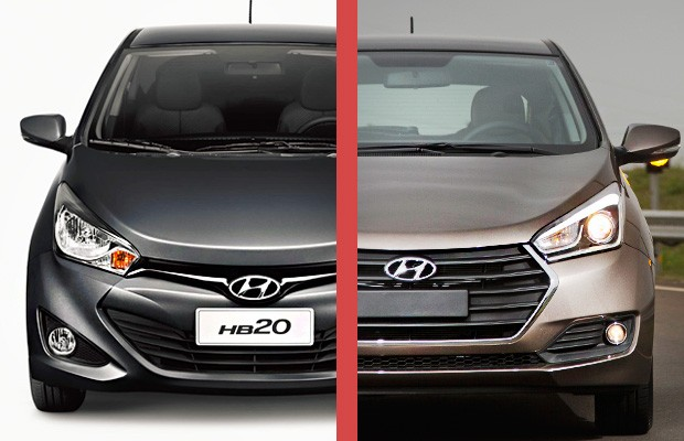 Hyundai HB20: Era assim... e ficou (Foto: Fabio Aro/Autoesporte)