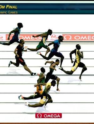 Photo Finish, Final 100m Bolt