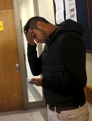 Irmão de Vidal, Sandrino acompanha irmão no julgamento (Foto: REUTERS/Ivan Alvarado)