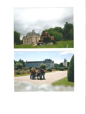 Família Fronckwiak na França (Foto: arquivo pessoal)
