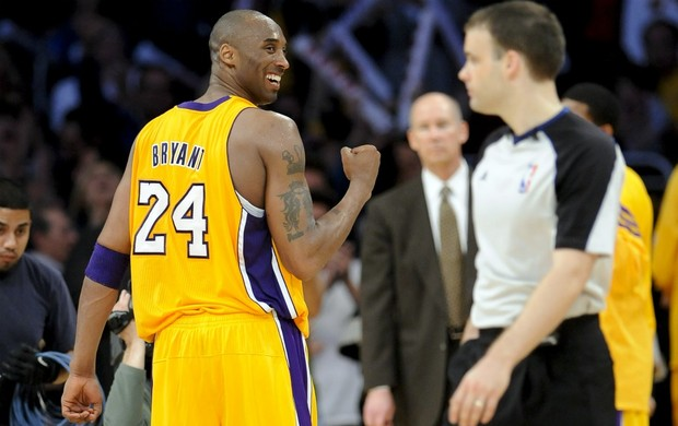 NBA Basquete Kobe Bryant Los Angeles Lakers (Foto: AP)