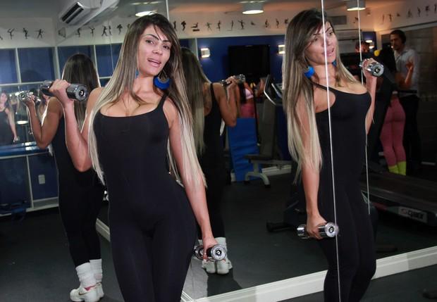 Ana Paula - Miss Bumbum  (Foto: Celso Tavares / Ego)