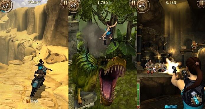 Game traz a heroína de Tomb Raider em nova aventura (Foto: Divulgação)